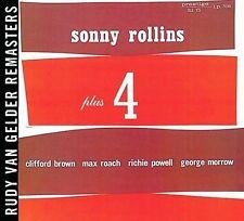 ~COVER ART MISSING~ Sonny Rollins CD Plus Four: Rudy Van Gelder Remasters Series