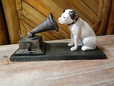 Nipper Dog with Gramophone Victor RCA Dog
