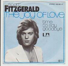 "7"" Scott Fitzgerald The Joy Of Love 70`s United Artists 036 466 AT"