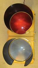 "12"" Poly McCain 2 section LED BALL Traffic Signal Light"
