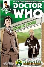 DR WHO 1 10th TENTH DOCTOR RARE DRAGONS LAIR VARIANT COVER (NO 11TH)