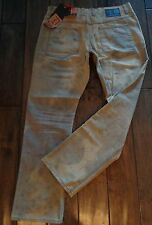 DELETE DENIM MENS GRAY TIE DYE STRAIGHT LEG JEANS SIZE 34 NEW WITH TAGS