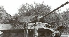 6x4 Gloss Photo ww40C Normandy Calvados Villiers Bocage 1944