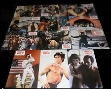1980 Fist of Fear, Touch of Death ORIGINAL SPAIN LOBBY CARD SET Bruce Lee RARE