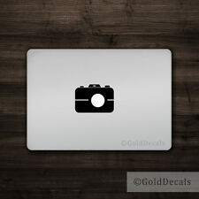 Camera - Mac Apple Logo Cover Laptop Vinyl Decal Sticker Macbook Unique Photo