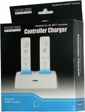 NINTENDO WII DUAL REMOTE CHARGING STATION + 2 RECHARGEABLE BATTERY PACKS