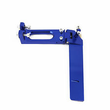130mm CNC Aluminum Boat Rudder Blue for Medium Size RC Boat