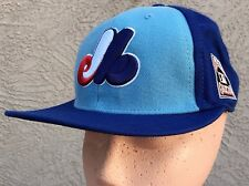 Cooperstown Collection Montreal Expos Fitted Hat Cap 7 1/8 by Twins Acrylic Wool
