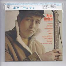 BOB DYLAN same s/t first album JAPAN mini lp cd MONO recordings w/ OBI SICP 2951