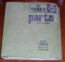 Terex S24B 023 024 Scraper Parts Manual SN 66715-71020