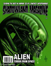 SHADOWLAND Magazine #8 ALIEN Flash GOLGO 13 Duke Togo PHANTASM Edgar Allan Poe