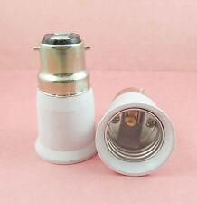 B22 to E27 Socket Base LED Halogen CFL Light Bulb Lamp Adapter Converter Holder