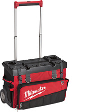 "NEW MILWAUKEE 48-22-8220 24"" HARDTOP ROLLING STORAGE TOOL BAG KIT HEAVY DUTY"