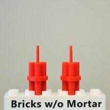 New Genuine LEGO Two Dynamite TNT Stick Bundles Minifig