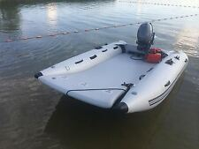 THEAIRBOAT Inflatable Mini Catamaran 9.6' High Speed Boat