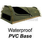 OZTRAIL MITCHELL (PVC BUCKET FLOOR) KING SINGLE CANVAS SWAG WATERPROOF PVC BASE