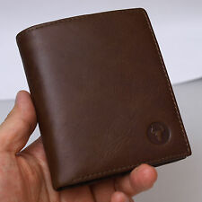 New Leather Wallets For Mens Credit Card Holder ID Photos Vintage Purse 5302A