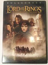 The Lord of the Rings The Fellowship of the Ring (DVD, 2002, 2-Disc Set FREESHIP