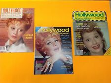 3 Different Lucille Ball I LOVE LUCY Hollywood Studio Magazines