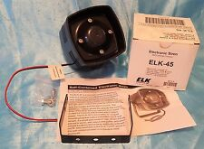 Elk Products ELK-45 Self-Contained Electronic Siren ~ NEW