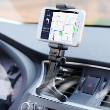 1pc Black Universal Car Air Outlet Windshield Dashboard Stand Mount Phone Holder