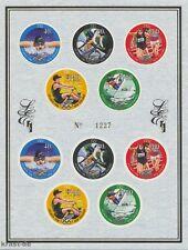 NEUSEELAND NEW ZEALAND - 1996 LIMITED EDITION OLYMPIA OLYMPICS ATLANTA 1526-30 K
