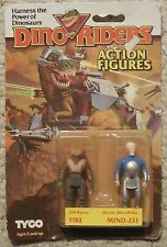 DINO RIDERS Fire Mind-zei Action Figures MOSC NEW TYCO DINO RIDERS