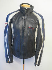 "Vintage Dainese CAFE RACER Leather Motorcycle Biker Jacket M 40"" Euro 50"