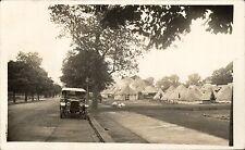 Grove Park near Lee. Military Camp & Motor Car.