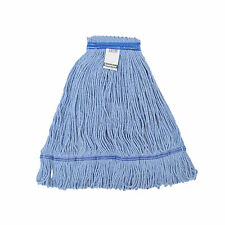 1doz. 600g/21oz. SunnyCare #21602 Blue Synthetic Cotton Loop-End Wet Mops 12/CS