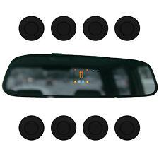 """Einparkhilfe """"Parking Welt"""" 8x Sensoren 21mm Matt Schwarz Rückfahrwarner PDC M15"""