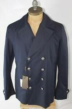 AUTH $2295 Gucci Men Navy Padding Jacket 48/S