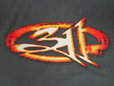 311 - VINTAGE FLAME LOGO - GRAY  XL TWO-SIDED T-SHIRT Y648