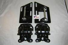 S-10, S-15, V8 2-Wheel Drive Conversion Motor Mounts with Rubber Frame Mounts