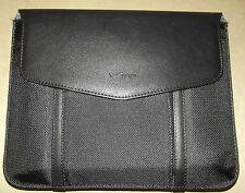 NEW Verizon Black Leather Tablet E-Reader E-Book iPad Sleeve Case Cover Carrier
