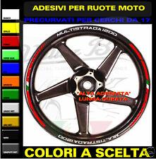 adesivi ruote ducati multistrada 1200 s tutti i modelli strisce cerchi