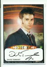 Doctor Who 10th Doctor David Tenant  Autograph Reprint Card