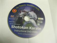 SHOTOKAN KARATE INSTRUCTIONAL DVD-VIDEO VOL 1 - BEGINNERS GUIDE  {DVD}
