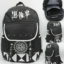 Anime Black Butler Kuroshitsuji Unisex Backpack Shoulders Bag Bookbag Rucksack