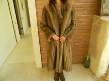 "Blond Russian Sable Coat Jacket ""Louis Feraud"""