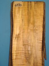#6330,spalted Tiger Maple Live Edge Slab table top lumber turning wood rustic