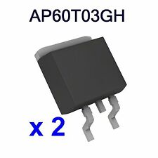 2 Lots AP60T03GH 60T03GH 60T03H MOSFET 45A 30V TO-252 UK STOCK