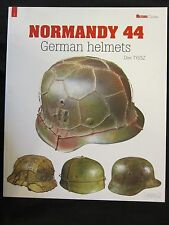 Book: German Helmets - The Normandy Campaign - 84 pages, 240 photographs