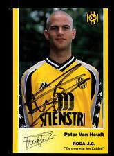 Peter van Houdt  Autogrammkarte Roda Kerkrade Original Signiert+A 148609