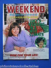 Weekend Magazine - Lucy Gutteridge, Stars with Charmed Lives     11th Mar 1981