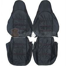 1998-2004 Porsche 911 996 986 Boxster Custom Real Leather Seat Covers (Front)