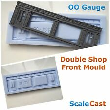 Linka Compatible Model Railway DOUBLE SHOP FRONT-  Mould - 00 Gauge