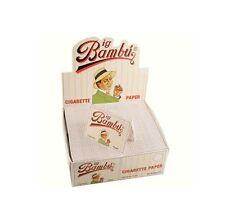 BIG BAMBU Cigarette Rolling Papers 50 Packs Genuine