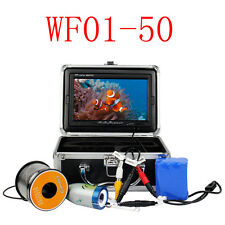 "7"" LCD HD 1000TVL 50M Underwater Fishing Video Camera System Fish Finder Machine"