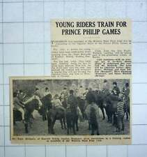 1967 Prince Philip Games Exeter Western Hunt Pony Club